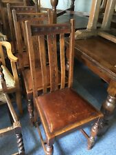 Chair Pub Chairs Solid Oak Dining Furniture 100+ In Stock