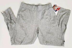 Joy-Lab-Women-039-s-Activewear-Bottoms-Gray-Jogger-Pocket-Heather-Ruched-Sizes-M-2XL