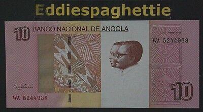 Angola 10 Kwanzas (2012) 2017 Unc P-new Para Reducir El Peso Corporal Y Prolongar La Vida