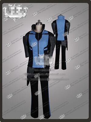 Amine COSPLAY RWBY Mercury Black Merc Cosplay Costume Outfit Custom Made