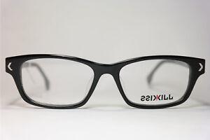 kisskill-kk2622-004-50-15-140-Negro-Gris-Ovalado-montura-de-gafas-gafas-NUEVO