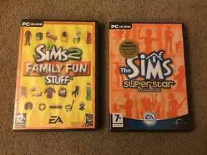 Image Is Loading PC CD ROM The Sims 2 Family Fun