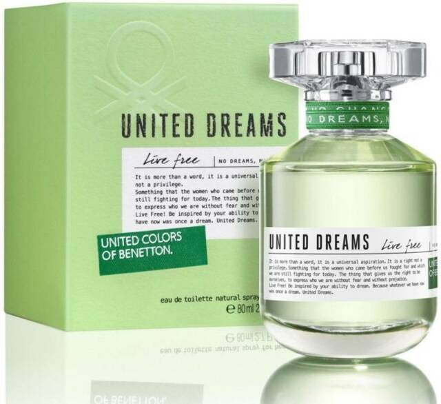 358dc42bd26 United Colors of Benetton. United Dreams Live EDT - 80 ml (For Women ...