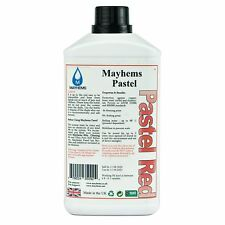 Mayhems Pastel Pre Mixed Water Cooling Liquid Coolant Red Fluid 1 Litre