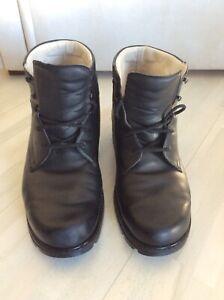 Details zu Orthopädische Schuhe, Handgearbeitet, Leder mit Einlegesohle Gr.45 ?