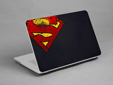 LAPTOP NOTEBOOK SKIN STICKER COVER DECAL SUPER MAN SONY VAIO TOSHIBA 15.6 inch