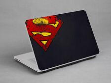 Laptop Notebook Skin Sticker Cover Art Super Man Dell IBM Lenovo HP 15.4 inch
