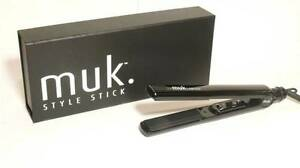 BLACK-muk-Hair-Straightener-Straightening-Iron-80-C-210-C-Style-Stick