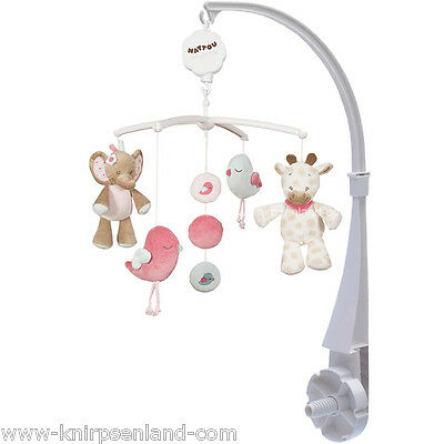NATTOU Musik Mobile Musikmobile Baby Spieluhr Einschlafhilfe Babymusikmobile NEU