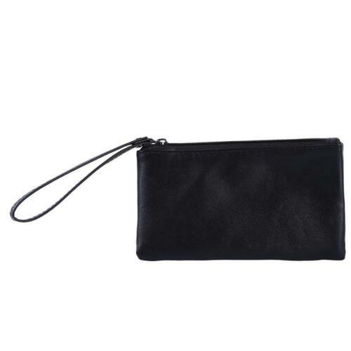 Womens Wallet Female Envelope Bags PU Leather Ladies Coin Purse Zipper Purse W