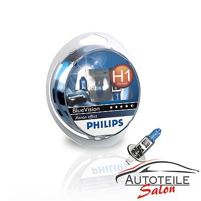 Philips BlueVision 2x H1 4000k Xenon Effekt + 2x W5W BV 12972BVSM Duo