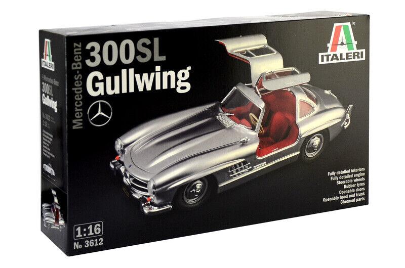 Mercedes Benz 300 Sl Gullwing Kit ITALERI 1 16 IT3612