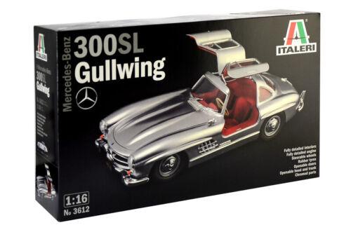 Mercedes Benz 300 Sl Gullwing Kit ITALERI 1:16 IT3612
