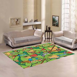 new custom teenage mutant ninja turtles mat area rug decorative