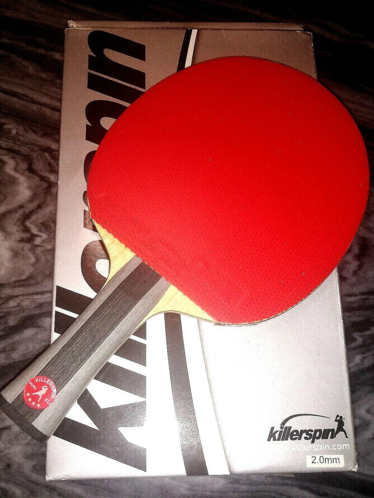 Killerspin 100-35 RTG Diamond TC Premium Table Tennis Paddle - FL