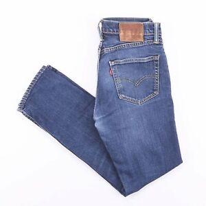 Vintage-Levi-039-s-511-Slim-Straight-Fit-Herren-Blue-Jeans-w30-l28