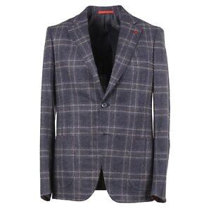 Isaia Slim 'Capri' Soft-Woven Boucle Wool-Silk-Cashmere Sport Coat 38R (Eu 48)