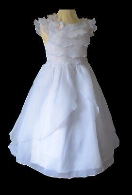 SALE /% Taufkleid mit Spitze weiss Kleid Taufe Festkleid NEU