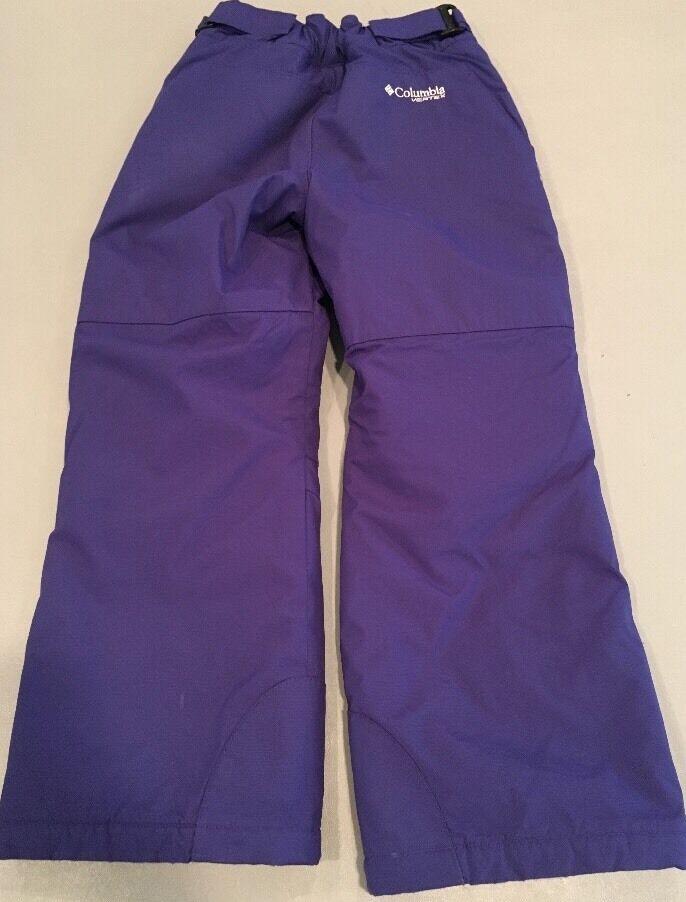 Youth 10/12 pants Columbia lila Snow pants 10/12 1992b0