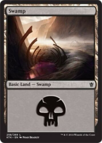 Basic Land Your Choice of Art MP to SP 20x Swamp Khans of Tarkir