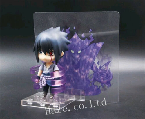 Naruto Sasuke Uchiha Shippuden Nendoroid PVC Figure Model Toys 4/'/' Collection
