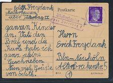 00535) Landpost Ra2 Malterhausen über Jüterbog II, Karte 28.3.44 ( von KLV ? )