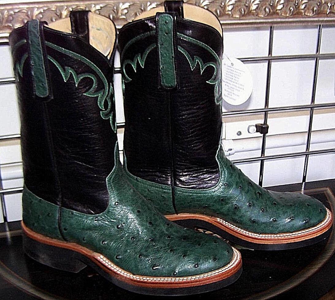 Anderson Bean Damen Zypresse Grün Voll Quill Strauß Cowboy Stiefel 6.5D Damen Bean 7.5 - 8W eaf7dd