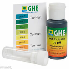PH Test Kit de Gotas GHE para medir el pH del agua ( 4.0 a 8.5 pH)  500 tests