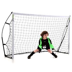 NEW-Kickster-Academy-7-a-Side-Football-Goal-Post-8-039-x5-039-FT-Cheap-amp-Portable-Goals