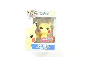 Funko POP Grumpy Pikachu *Flocked* 598 Angry Pokemon 2020 Fall Convention NYCC