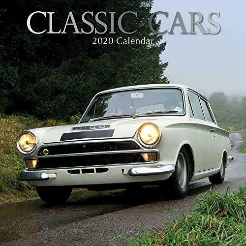Classic Cars: 2020 Square Wall Calendar NEW