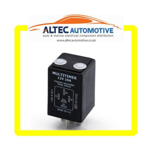 TIMER RELAY Adjustable  12 volt 10 Amp  ALT//ADJTIMERRELA12v