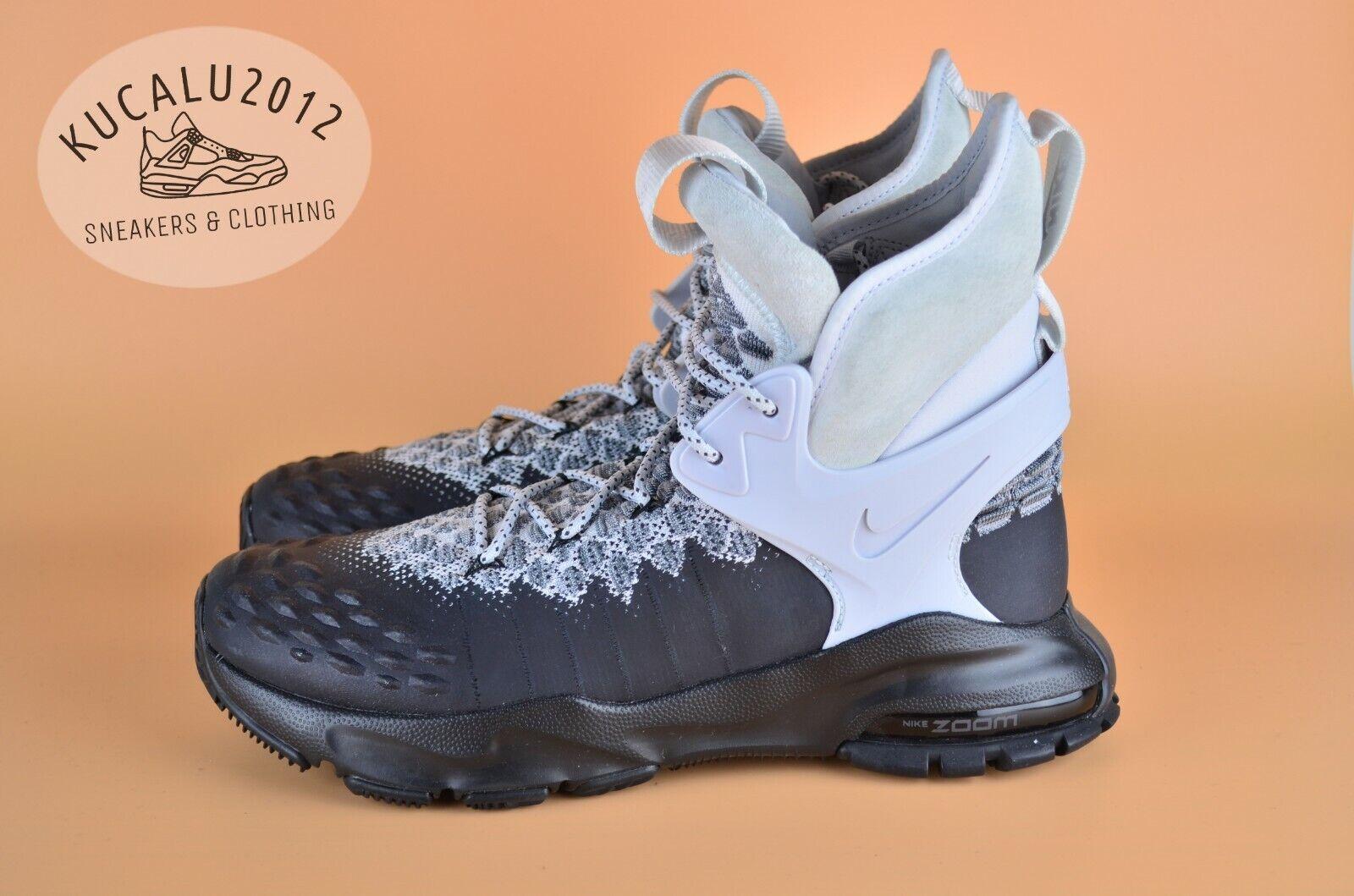 Nike Zoom Taillec Flyknit ACG Bottes Noir Blanc Oreo 865947-003