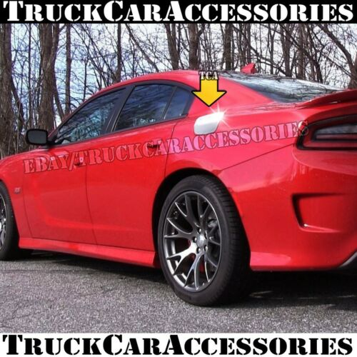 For DODGE Charger 2011 2012 2013 2014 2015 2016 Chrome Gas Door Fuel Tank Cover