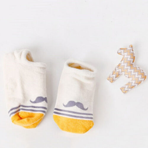 Baby Kids Asymmetrical Ship Sock Cartoon Socks Kids Anti-Slip Floor TEUSBLUS