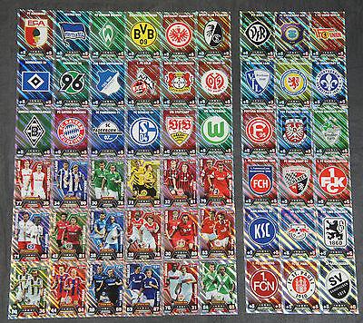 Match Attax 2014/2015 Duo-Karten & Clubkarten aussuchen Topps 14/15 Logo Wappen
