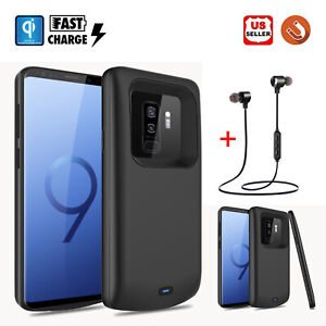 For-Samsung-Galaxy-S8-S9-Plus-Battery-Charger-Charging-Case-Power-Bank-Headset