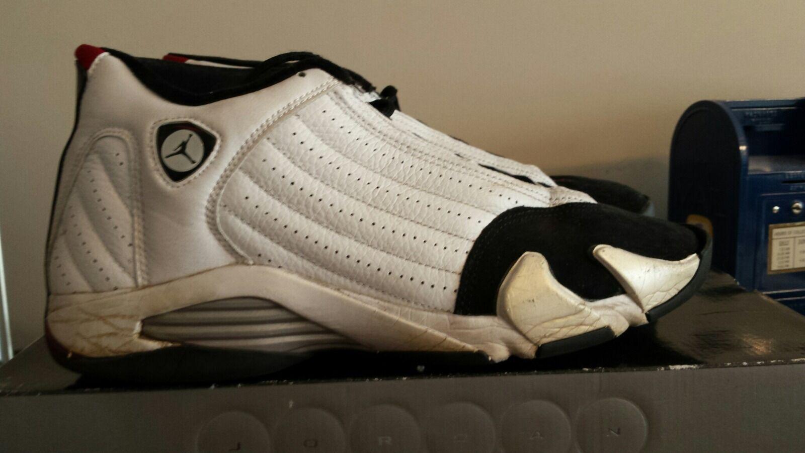 Men's Size 12 Air Jordan 2006 Retro 14 Black Toe 2006 Jordan RARE Jeter OG Bred Cement 76c559