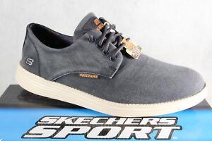 Skechers Herren Schnürschuhe Sneakers Sportschuhe blau 8we7A