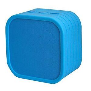 Details about Genuine Vivitar Infinite Neon Wireless Bluetooth Speaker IOS  Andriod Blue