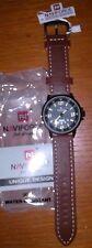 New!  Naviforce Mens Quartz Military Army Leather Band Sports Wrist Watch