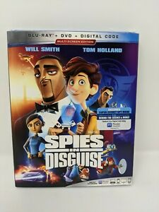 034-espias-in-Disguise-034-Blu-ray-Dvd-Digital-Nuevo-Sellado-De-Fabrica-Con-Slipcover