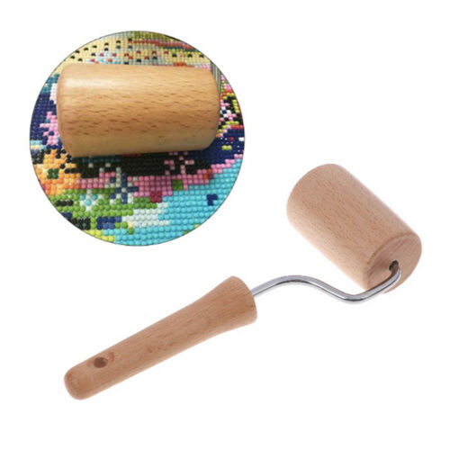 5D Diamond DIY Painting Tool Wooden Roller For Rhinestone Embroidery Painting PS