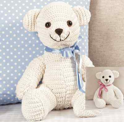 Knitty Critters Tumble Ted Teddy Bear Crochet Kit | 392x400