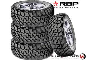 4 RBP Repulsor M/T II 35X12.50R18LT 128Q 12Ply JEEP Truck SUV Off-Road Mud Tires