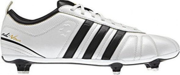 scarpe da calcio adidas adi-Nova IV SG G40629 Bianco-Nera tacchetti a sei