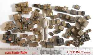 1-24-G-Scale-Dollhouse-Unpainted-Accessories-Detail-Boxes-Crates-Buy-2-get-3