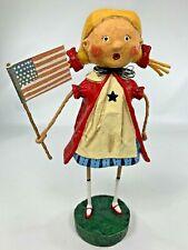 LORI MITCHELL Twist and Shout ~ Americana Figurine ~ 4th of July ~Free Shipping