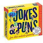 294 Bad Jokes & 71 Punderful Puns 2017 Calendar Workman Publishing (corporate AU