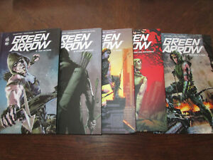 GREEN-ARROW-5VOL-URBAN-DC-COMICS-CARTONNAGE-TBE